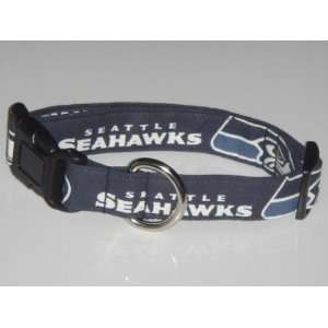 NFL Seattle Seahawks Football Dog Collar X Large 1