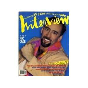 MAGAZINE    AUGUST 1994 ISSUE (NICHOLAS CAGE COVER) INTERVIEW Books