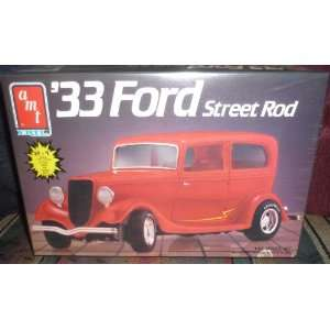 #6714 AMT/Ertl 33 Ford Street Rod 1/25 Scale Plastic model kit
