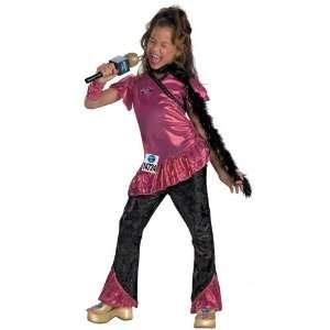 American Idol Pop Star Singer Deluxe Child Girl Costume (4