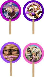 Tangled   Rapunzel Birthday Invitations and Favor