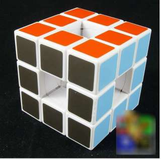 LanLan Speed Void Hollow Rubiks Cube Twist Puzzle White