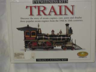 NEW Train Casting Kit Eyewitness Train Kit Steam Engine