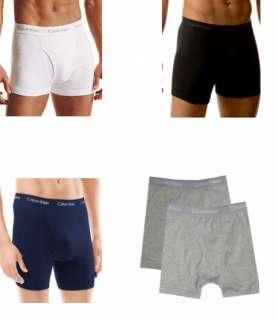 CALVIN KLEIN MENS Logo Waistband Stretch Boxer Briefs Underwear S XL
