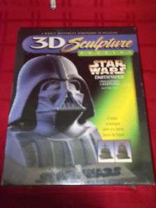 3D Sculpture Star Wars Darth Vader Challenging Puzzle