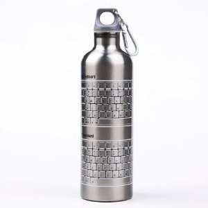Stainless Steel Cycling Camping Travel Hiking Water Bottle Canteen