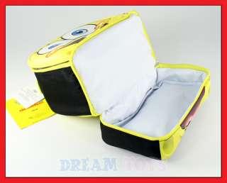 Spongebob Squarepants Face Dual Compartment Lunch Bag