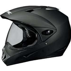 AFX FX 37 DUAL SPORT MOTORCYCLE HELMET FLAT BLACK XL