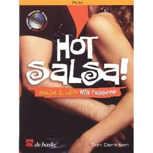 Hot Salsa!   Flute (Book/CD) (9789043123013) Books