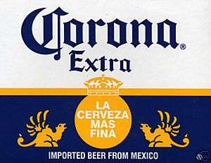 Corona Poster   La Cerveza Mas Fina   Mexican Beer