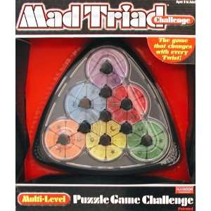 Mad Triad Challenge   Rubiks Cube type puzzle Toys & Games
