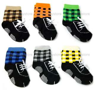 new baby toddler boy black checker shoes socks 12 24 months