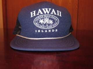 Islands Maui Fresh Hawaiian Mac Miller Style Blue Swag Snapback Hat