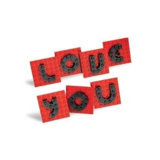 love you valentine day letter set by lego buy new $ 7 98 6 new from