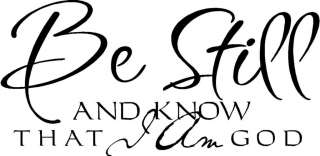 That I Am God Christian Vinyl Decal Wall Sticker Letters Words