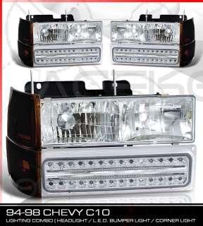 94 98 SILVERADO 1500 HEADLIGHT+LED SIGNAL LIGHT+CORNER