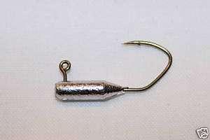 17 pk 1/16 oz Tube Insert Crappie Jigs BZ Sickle Hooks