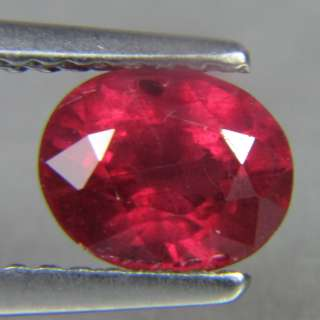 25 CT AWESOME NATURAL PIGEON BLOOD RED OVAL RUBY