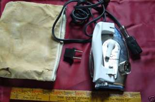 Vintage Dominon Portable Travel Clothes Iron