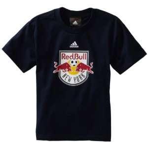 MLS New York Red Bulls Team Logo Short Sleeve T Shirt, 8