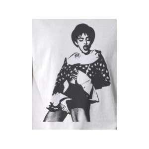 Crotch Grabbing Madonna   Pop Art Graphic T shirt (Mens