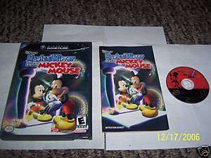 Mirror Starring Mickey Mouse (Game Cube) comple 045496960360
