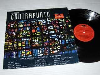 QUINTETO CONTRAPUNTO Musica Popular Y Folclorica De Venezuela POLYDOR