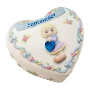 Moments Birthday Heart Covered Box   September Home & Kitchen