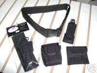Correctional Officers Duty Belt 5 Piece Nylon Web Set