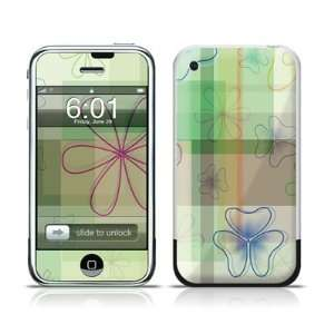 Plaid Flower Design Protective Skin Decal Sticker for