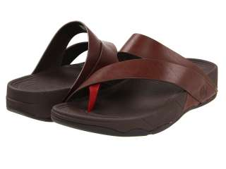 FITFLOP SLING LEATHER MENS THONG SANDAL SHOES ALL SIZES |