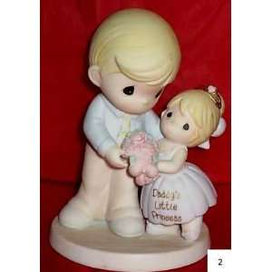 Moments Daddys Little Girl Father and Daughter Figurine Collection