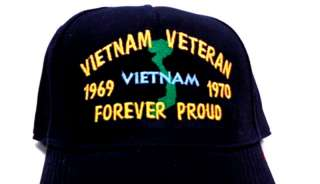 Custom Embroidery VIETNAM VETERAN Cap US Marine Army
