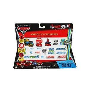 Disney Pixar Cars 2 RIDEMAKERZ World Grand Prix Racing