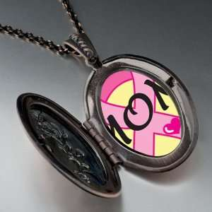 Mothers Day Gifts Mom Pink Ribbon Awareness Pendant