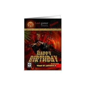21st Birthday Card for Gamers Tomb of Antioch Card: Toys & Games