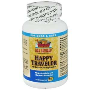 Ark Naturals   Happy Traveler For Dogs & Cats, 30 capsules