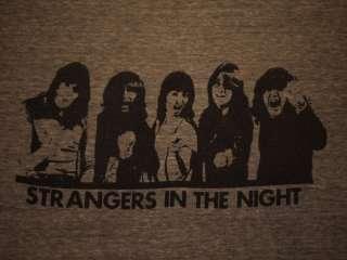 UFO vintage 1979 tour ringer shirt Metal Rock Concert