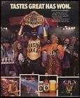 1989 L.C Greenwood photo Miller Lite Beer photo ad