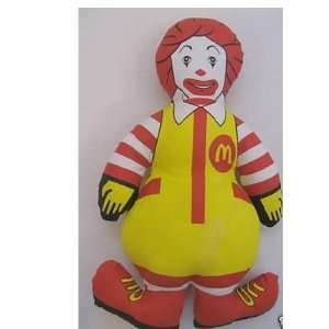 Vintage Ronald McDonald Cloth Doll Everything Else