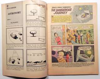 SPACE FAMILY ROBINSON #7 1964 VINTAGE GOLD KEY COMIC Fine