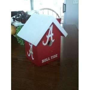 Alabama Roll Tide Birdhouse Patio, Lawn & Garden