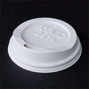 8 oz. Eco Products Recycled Content Hot Paper Cup Lid