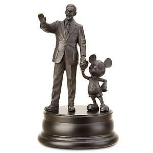 Disney Mickey Mouse Walt Disney Partners Bronze Statue