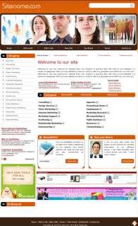 Established Advertising Network Directory website Sale