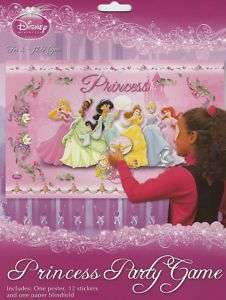 DISNEY PRINCESS PARTY GAME FOR 12 CHILDREN