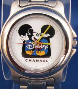 NICE MENS DISNEY CHANNEL MICKEY MOUSE QUARTZ WATCHMUST L@@KMINT