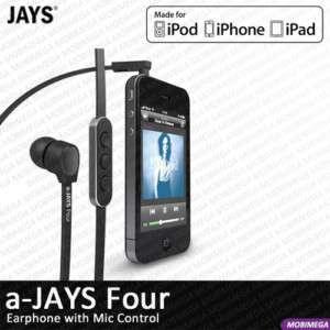 Earphones Headphones Headset w Mic Remote Control iPhone iPad iPod