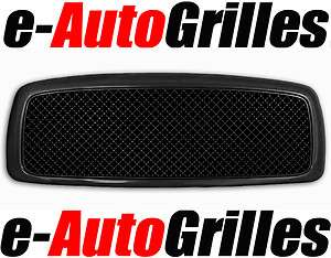 02 05 Dodge Ram 1500 BLACK Mesh Package Billet Grille
