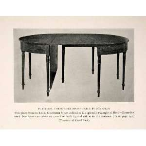 1939 Print Henry Connelly Dining Table Furniture Maker